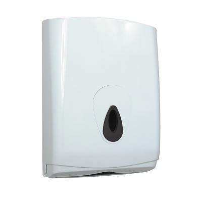 Handdoekpapier dispenser gevouwen