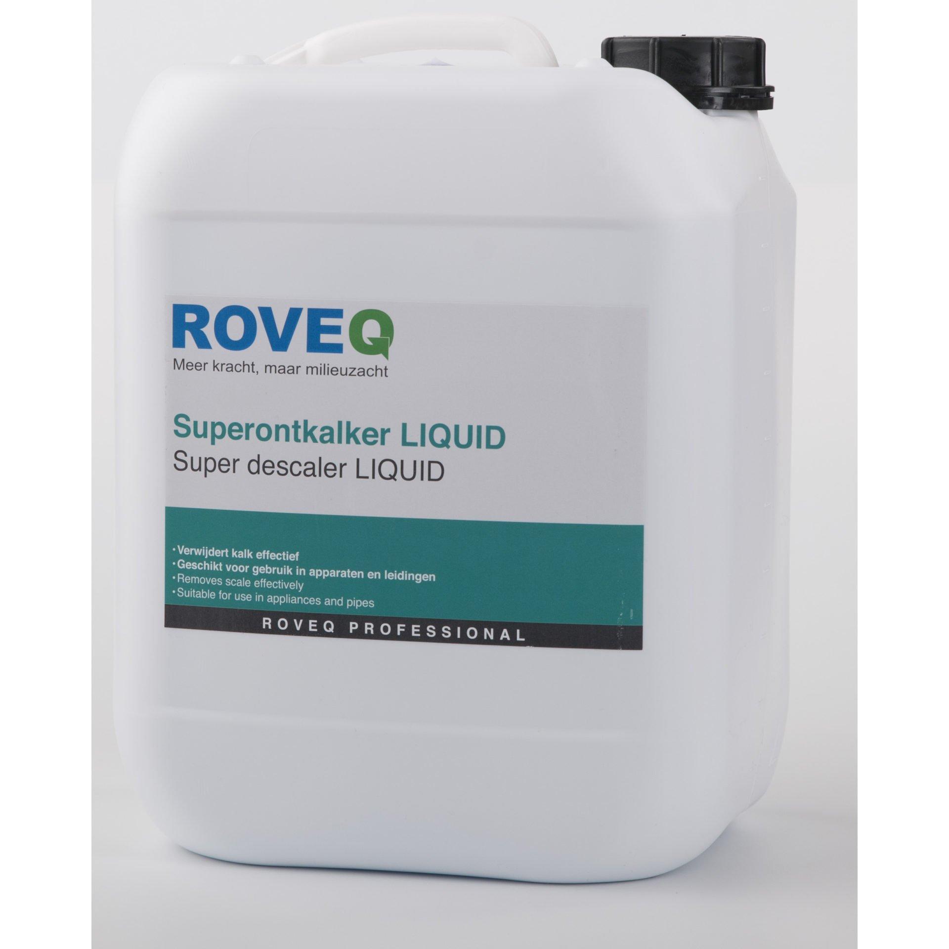 Veilige ontkalkers roveq schoonmaakproducten - Industriele apparaten ...