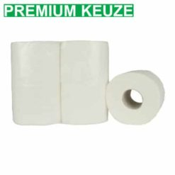 Toiletpapier traditioneel 2 laags 400vel 40rol cellulose