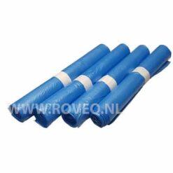 500 Afvalzakken 70x110 Blauw T25