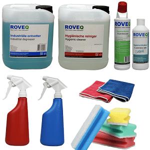 horeca schoonmaakmiddelen voordeelpakket