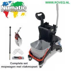 Numatic Mopwagen MMT-1616 complete set