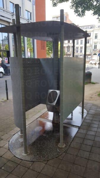 openbare watervrije urinoirs