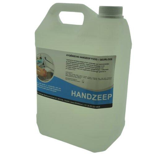 navul Handzeep hygiënisch FOOD zonder geur- en kleurstoffen 5 liter