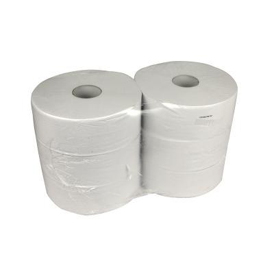 Pallet toiletpapier maxi jumbo 1laag Recycled 525meter