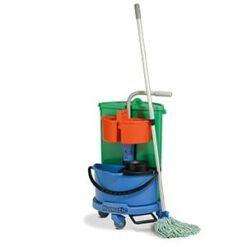 Numatic afval en dweilwagen NC-1 spaanse mop