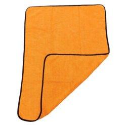 Microvezel Autodroogdoek – extra dikke kwaliteit -oranje 2