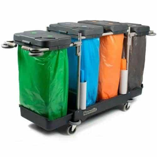 Afval verzamelwagen NUMATIC WMU-480