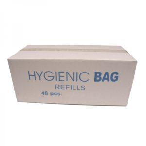 Maandverband hygiene zakjes plastic
