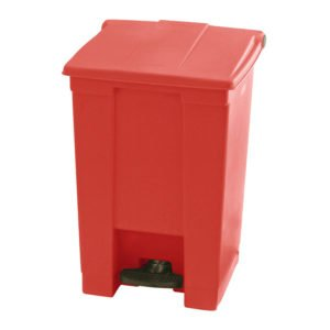 Afvalbak STEP-ON CLASSIC 45 liter Rubbermaid ROOD