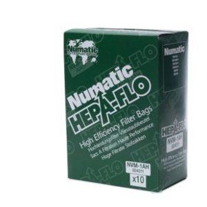 Numatic stofzuigerzakken NVM-1AH hepaflo