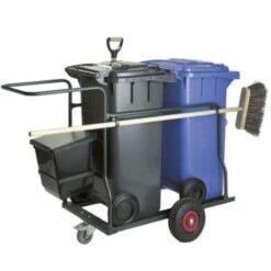 Complete containerwagen 2x120 liter