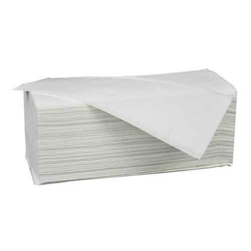 Papieren handdoekjes multifold w 3 laags 42x22cm cellulose
