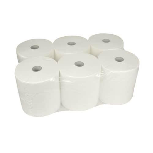 Handdoekrol control matic 2 laag 20cm 140mtr 6rol cellulose