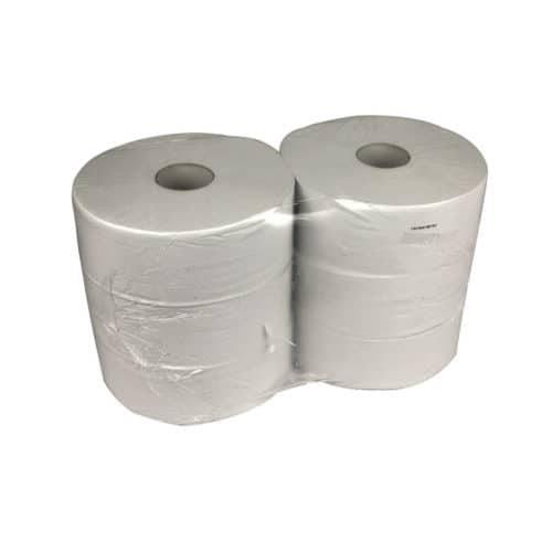 Toiletpapier Jumborol maxi 1 laags 560m 6 rol recycled