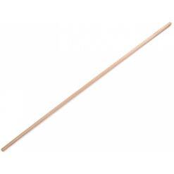 Houten bezemsteel 150cm