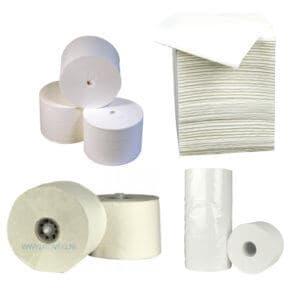 Toiletpapier Coreless, compact, systeemrol, bulkpack en andere
