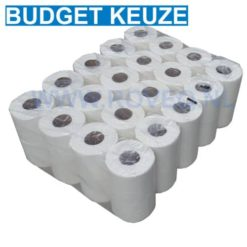 Toiletpapier traditioneel 2 laags 400vel 40rol tissue wit