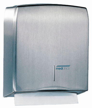 Handdoekdispenser RVS - Mediclinics