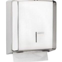 Handdoekdispenser RVS hoogglans - Mediclinics