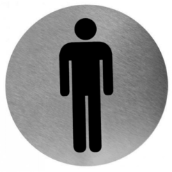 Pictogram man RVS RVS - Mediclinics