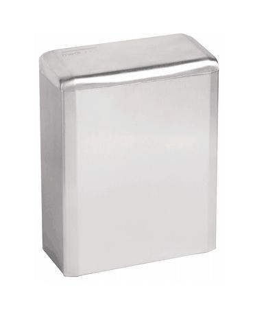 (Hygiëne)bak 6 liter gesloten hoogglans RVS hoogglans - Mediclinics