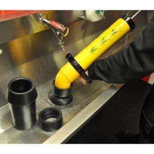 Vacuüm handontstopper vacuümpomp professioneel wasbak