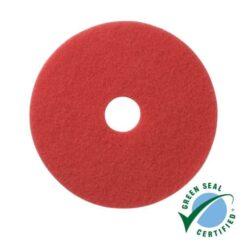 Vloerpads rood 100% gerecycled materiaal 5 stuks