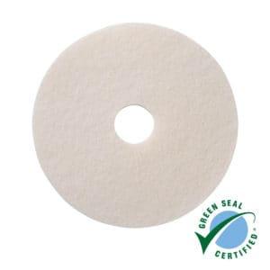 Vloerpads wit 100% gerecycled materiaal 5 stuks