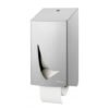 Doprol toiletpapier dispenser RVS anti-fingerprint coating Wings