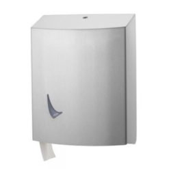 Traditioneel toiletpapier dispenser 3 rollen RVS anti-fingerprint coating Wings