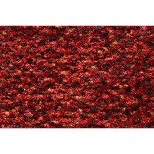 Schoonloopmat Portal red