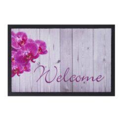 Schoonloopmat Afbeelding 40x60cm welcome orchid
