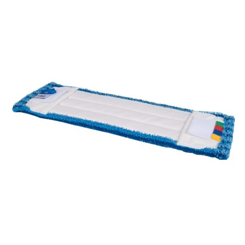 Wecoline Microvezel vlakmop met pockets en flaps Scrub onder