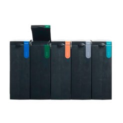 Afvalscheiding modulair afvalbak systeem BONTON GFTopen