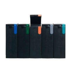 Afvalscheiding modulair afvalbak systeem BONTON plastic open