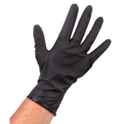 Nitril Handschoenen zwart 10 x 100 stuks maat S