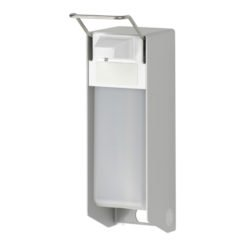 Zeepdispenser navulbaar 500ml korte beugel aluminium INGO-MAN
