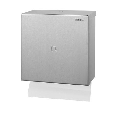 Handdoekdispenser RVS - Qbic-line