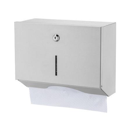 Handdoekdispenser klein RVS - Basicline