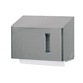 Handdoekdispenser klein RVS anti-fingerprint coating - SanTRAL