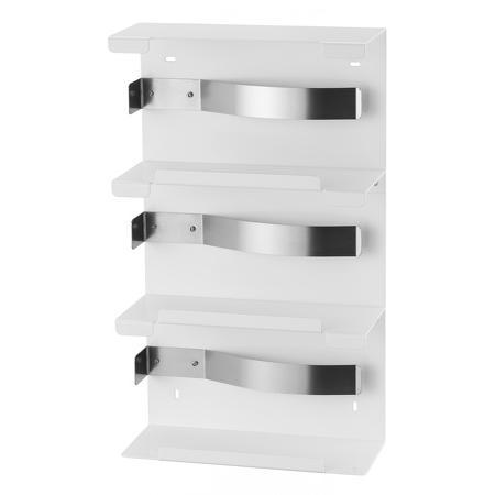 Handschoendispenser trio Aluminium Wit - MediQo-line