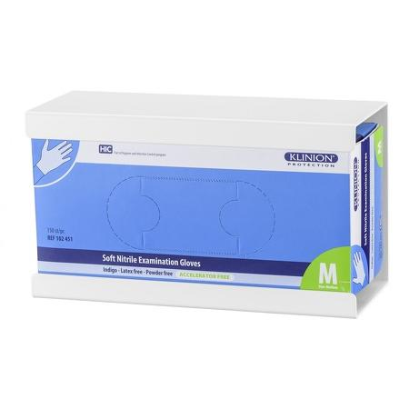 Handschoendispenser uno Aluminium Wit - MediQo-line