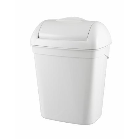 Hygiënebak 8 liter kunststof wit Kunststof Wit PlastiQline