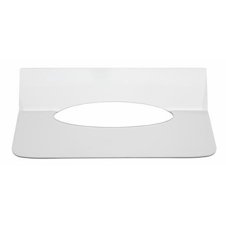 Inlegplaatje handdoekdispenser Kunststof Wit Qbic-line