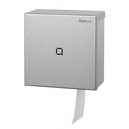 Jumboroldispenser mini RVS - Qbic-line