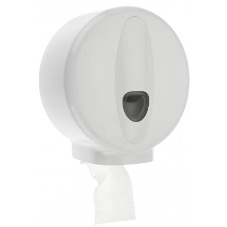 Jumboroldispenser mini kunststof Wit - PlastiQline 2020