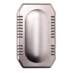 Luchtverfrisser dispenser air-o-kit kunststof RVS look MediQo-line