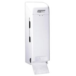 Toiletpapierdispenser 3rol wit Staal - Mediclinics