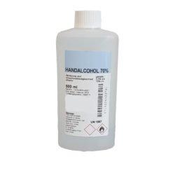 Desinfecterende en ontsmettende alcohol voor uw handen liquid 500ml